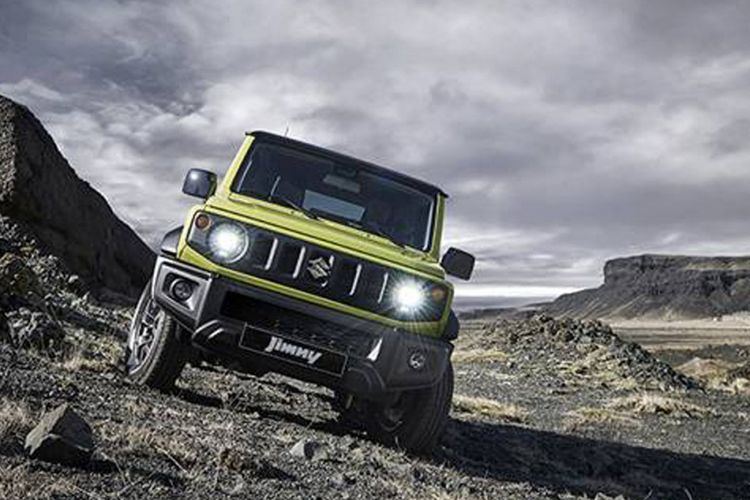 All-New Suzuki Jimny 2018.