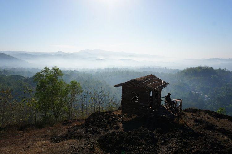 Gunung Ireng, Kecamatan Patuk, Gunungkidul, Salah satu Lokasi Melihat kabut