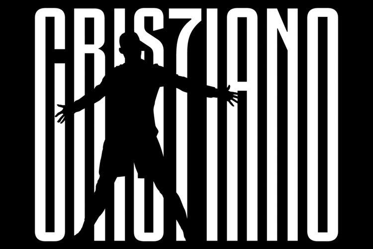 Logo Cristiano Ronaldo di situs web resmi Juventus.