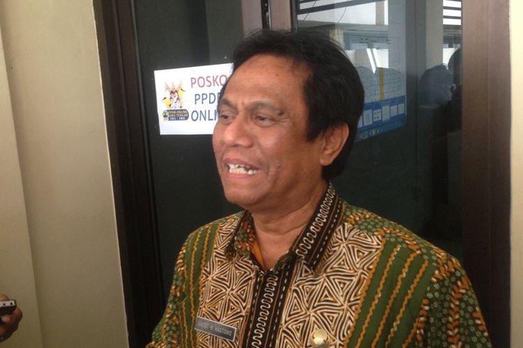 Kepala Dinas Pendidikan Jawa Tengah Gatot Bambang Hastowo, Rabu (11/7/2018)