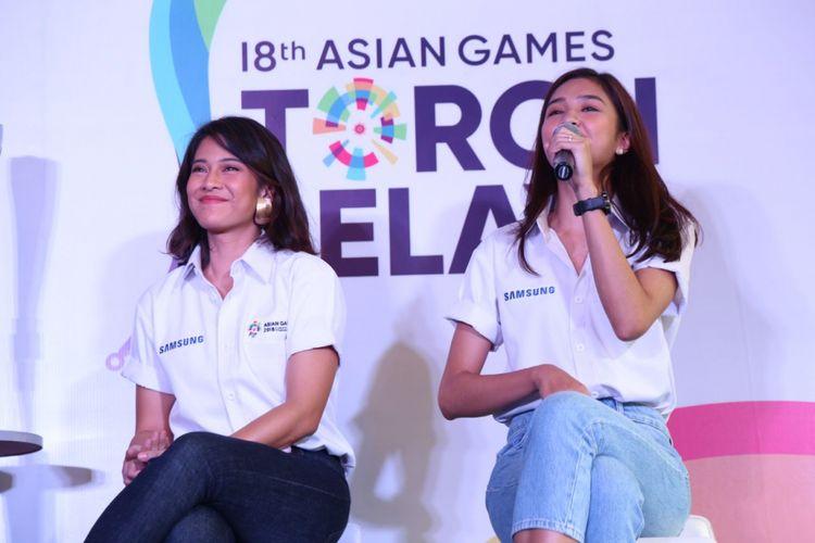 Dian Sastro dan Mikha Tambayong Jadi Pembawa Obor Asian Games 2018