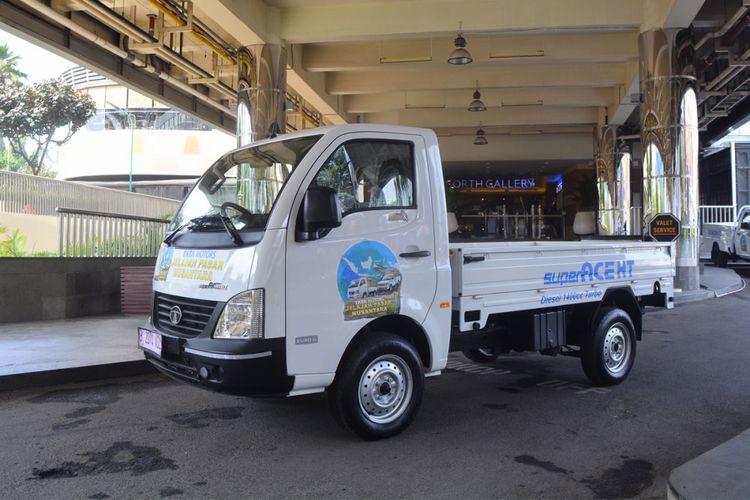 Tata Super Ace HT yang akan jelajah pasar tradisional Sumatera.