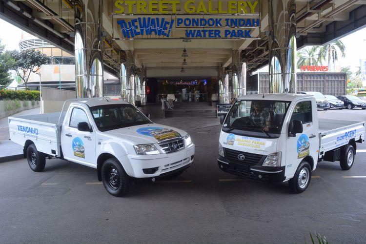 Tata Super Ace HT dan Xenon HD yang bakal menjelajah pasar Sumatera.