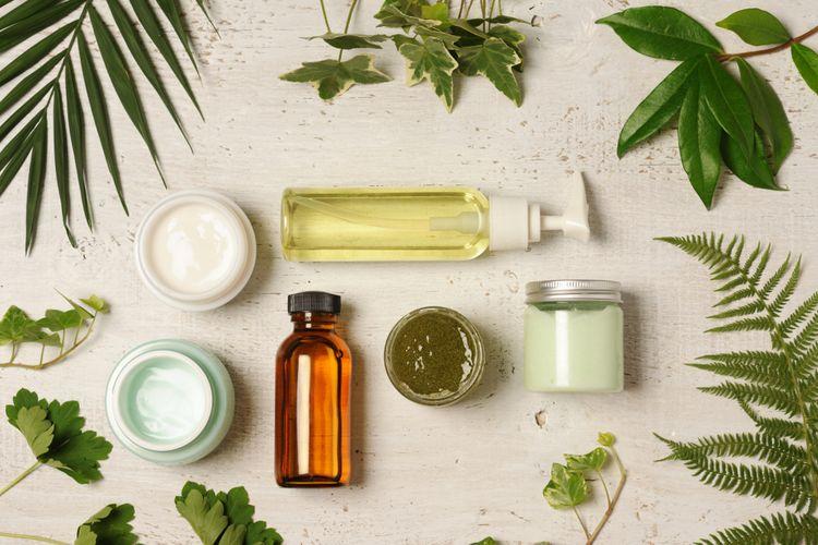 Ilustrasi produk skincare