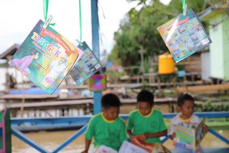 Belajar Praktik Baik Literasi Di Kalimantan Utara Kompas Com