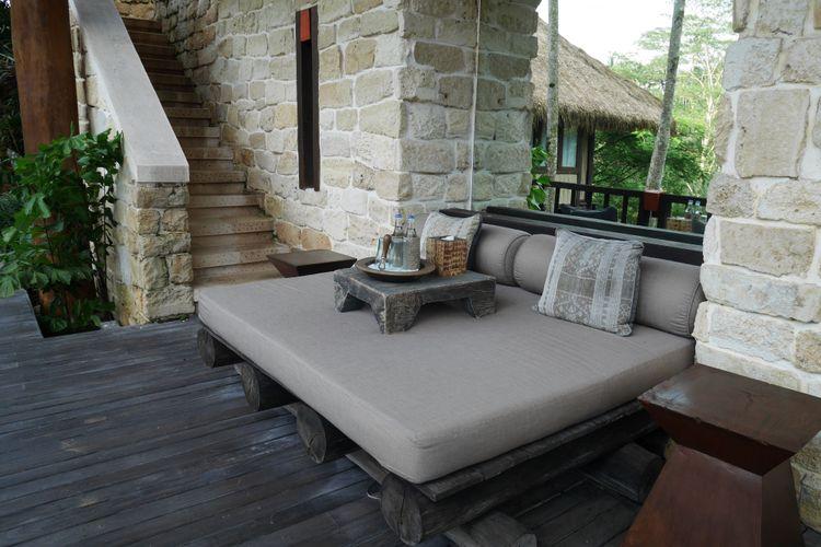 Residence Tejasuara terinspirasi dari budaya Sumba di Como Shambhala Estate, Bali, Jumat (15/12/2017)