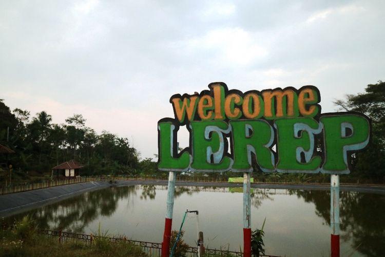 Obyek wisata Embung Lerep, salah satu obyek wisata di Desa Wisata Lerep, Ungaran, Jawa Tengah.