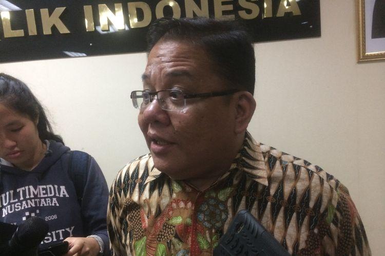 Anggota Ombudsman RI Adrianus Meliala saat ditemui di Gedung Ombudsman RI, Jakarta, Rabu (1/8/2018)