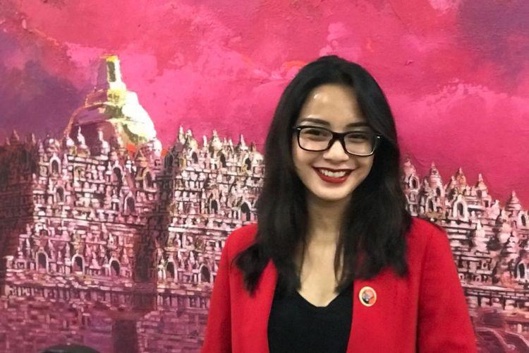 Aktris Kirana Larasati menjadi calon anggota DPR 2019-2024 dari PDI-P