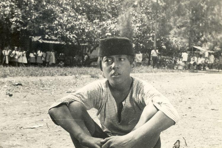 Rano Karno dalam Si Doel Anak Betawi pada 1973