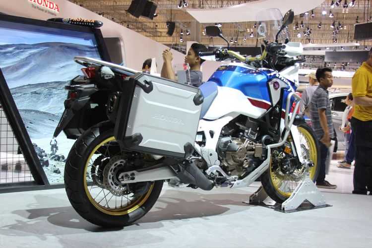 Honda CRF1000L Africa Twin Adventure Sports 2018 di GIIAS 2018.