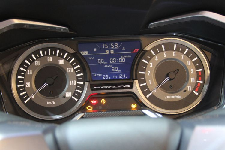 Ini Tiga Fitur Honda Forza, Adopsi Teknologi Moge
