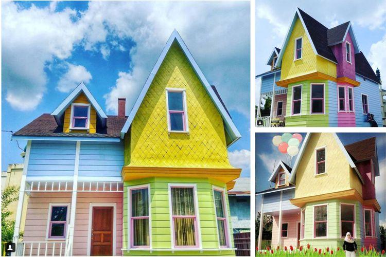 rumah ikonik ini menjadi salah satu tujuan wisata masyarakat Banjarmasin dan sekitarnya.