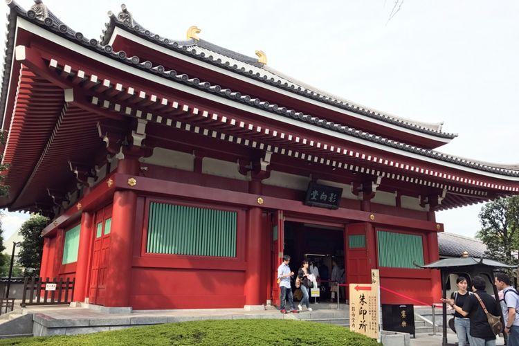 Beberapa kuil besar memiliki ruang yang khusus didedikasikan untuk stempel.