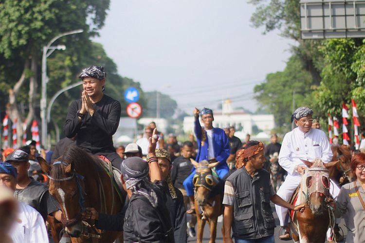 Parade helaran Hari Jadi Bogor (HJB) ke 535 tahun 2017.