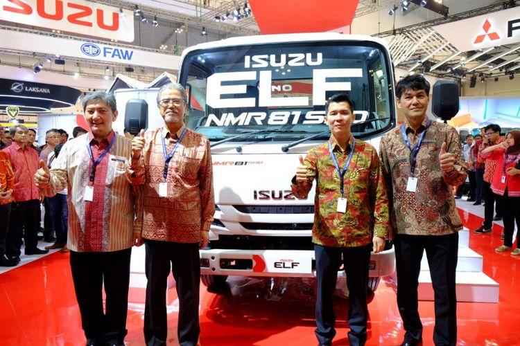 Isuzu Elf NMR 81, truk ringan pertama di Indonesia yang menggunakan mesin commonrail.