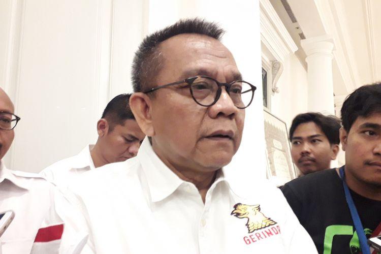 Wakil ketua DPRD Mohamad Taufik di balai kota, Jumat (10/8/2018)