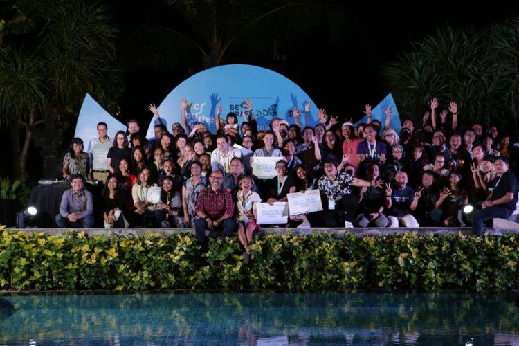 Badan Ekonomi Kreatif (BEKRAF) dan In-Docs menggelar Docs By The Sea 2018.