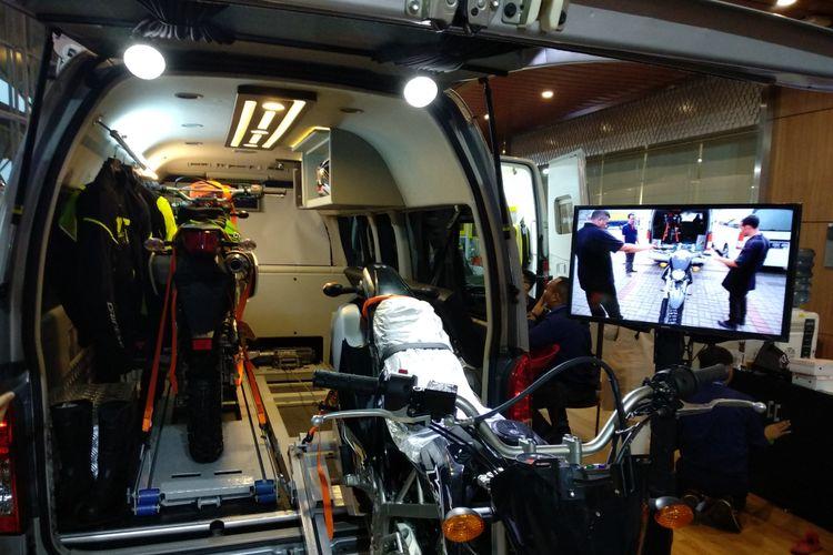 Baze menghadirkan personalisasi kendaraan untuk penggemar motor di GIIAS 2018
