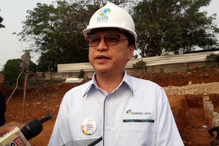 Dirut PD Pembangunan Sarana Jaya Yoory C Pinontoan