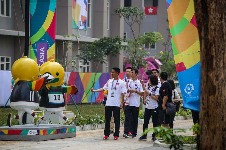 Atlet Peserta Asian Games 2018 Wisma Atlet Kemayoran