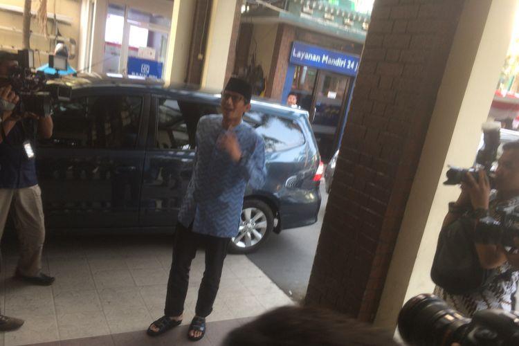 Pasangan Prabowo Subianto-Sandiaga Uno Sambangi PBNU