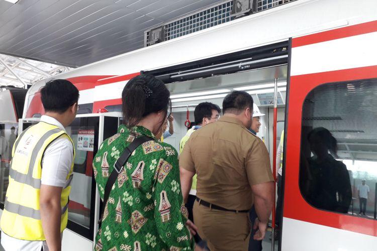 Uji coba LRT Jakarta akan dilakukan selama 1 bulan
