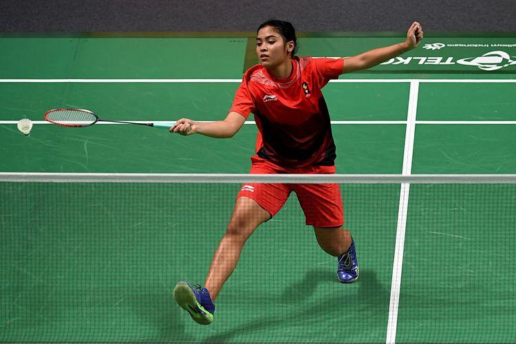 Atasi Wakil Amerika Serikat, Gregoria Tembus Perempat Final China Open
