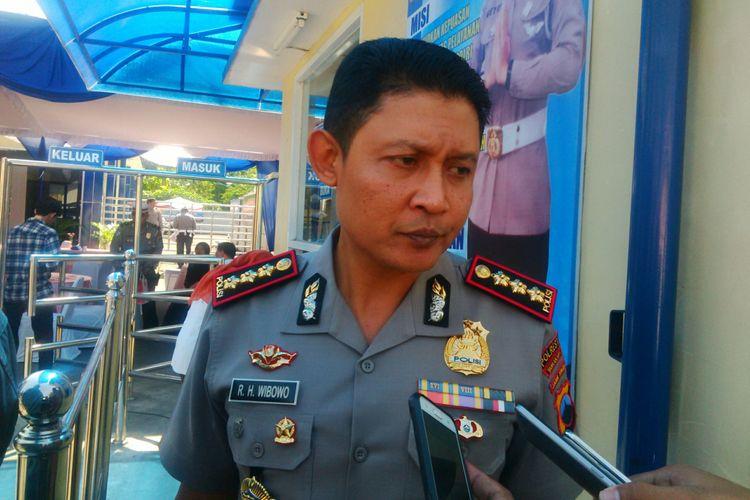 Kapolresta Surakarta Kombes Pol Ribut Hari Wibowo, Senin (27/8/2018).