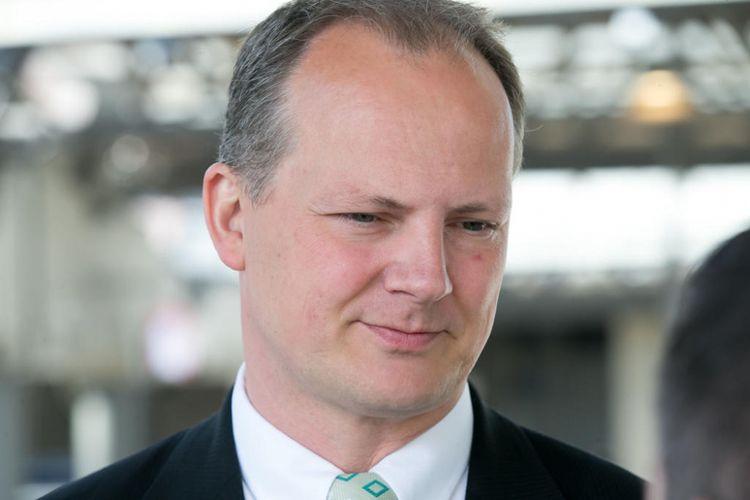 Menteri Transportasi Norwegia Ketil Solvik-Olsen yang mengundurkan diri pada Kamis (30/8/2018).