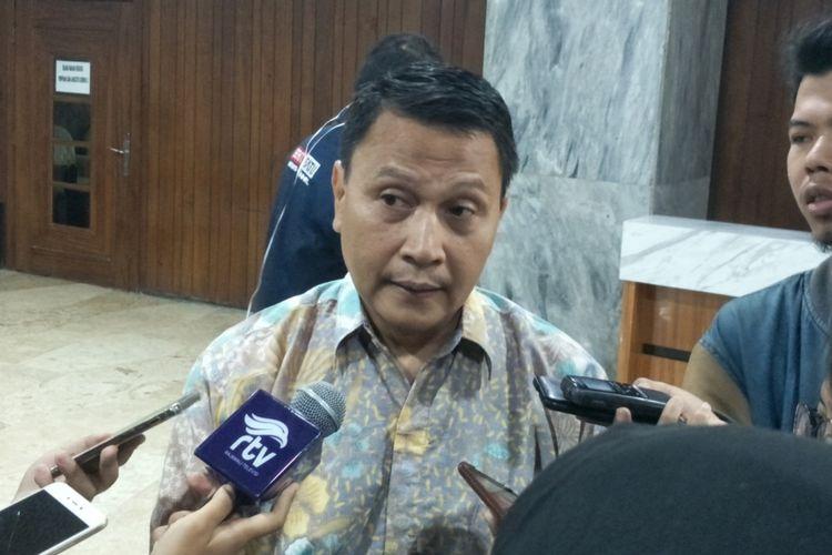 Wakil Ketua Komisi II Mardani Ali Sera di Kompleks Parlemen, Senayan, Jakarta, Senin (3/9/2018).