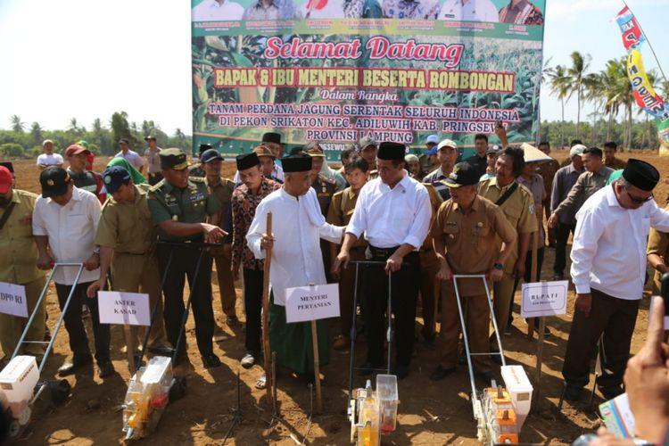 Kementerian Pertanian Gandeng PBNU Tanam Jagung Se-Indonesia