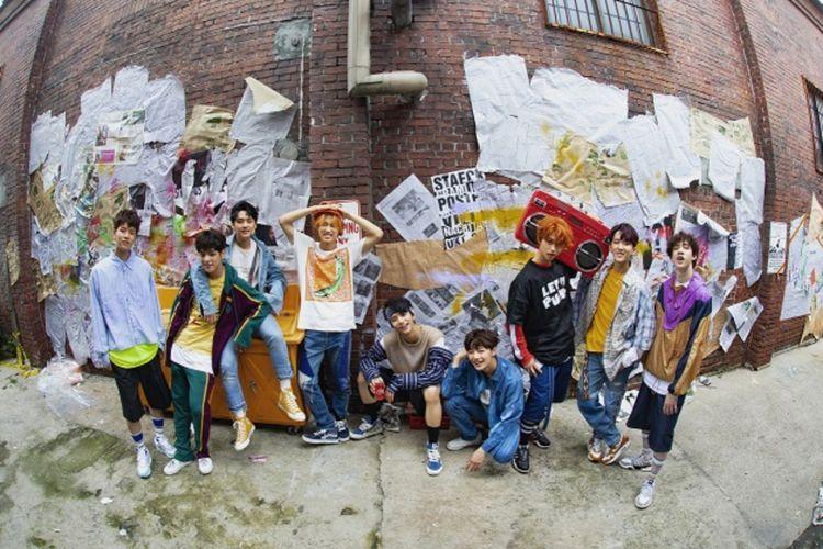 Boyband K-pop Stray Kids