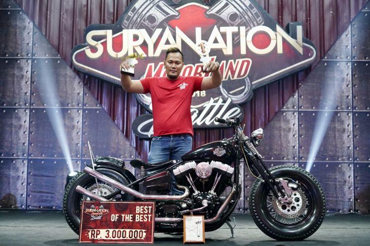 Suryanation Motorland 2018 di kota Makassar.