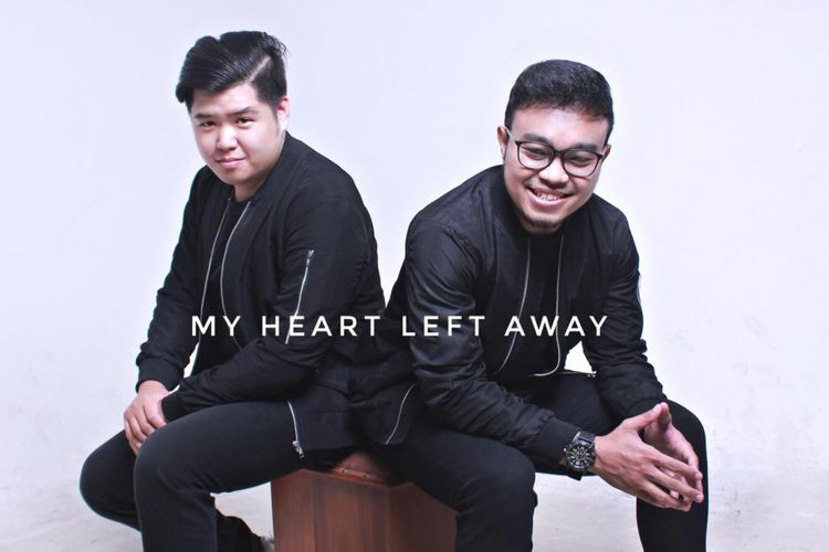 Sampul singel terbaru Baruch J, My Heart Left Away.