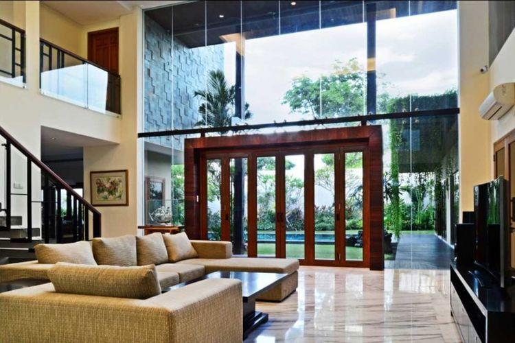 Ruang terang Jayagiri House di Bali karya ICDS ARCHITECT