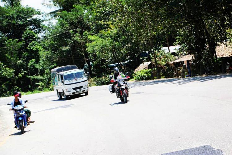Salah satu wilayah yang dilewati Gunadi dalam perjalannnya menuju Pegunungan Himalaya.