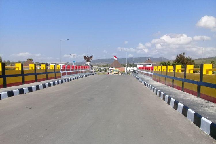 Sebanyak 41 Jembatan dibangun guna mendukung jalan Sabuk Merah Perbatasan Indonesia-Timor Leste.