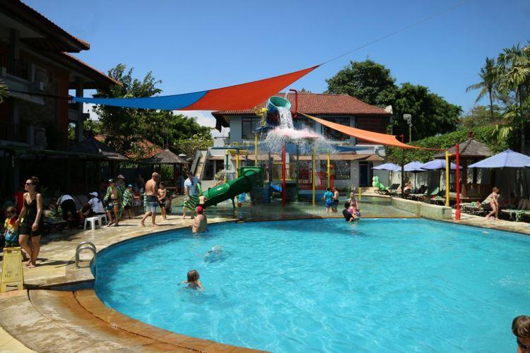 Suasana di Bali Dynasti Hotel, Kuta, Badung, Bali.