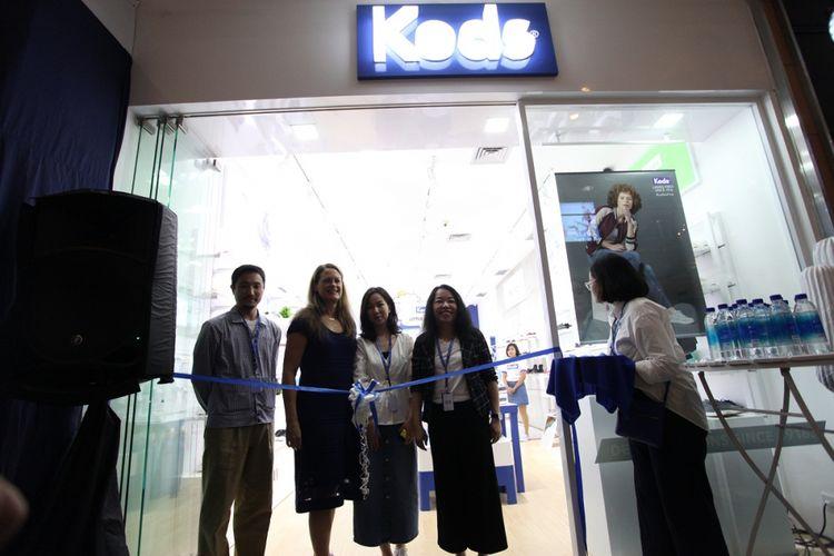 Peresmian gerai ketujuh Keds di Indonesia yang terletak di Grand Indonesia Mall, Jakarta, Kamis (4/10/2018).