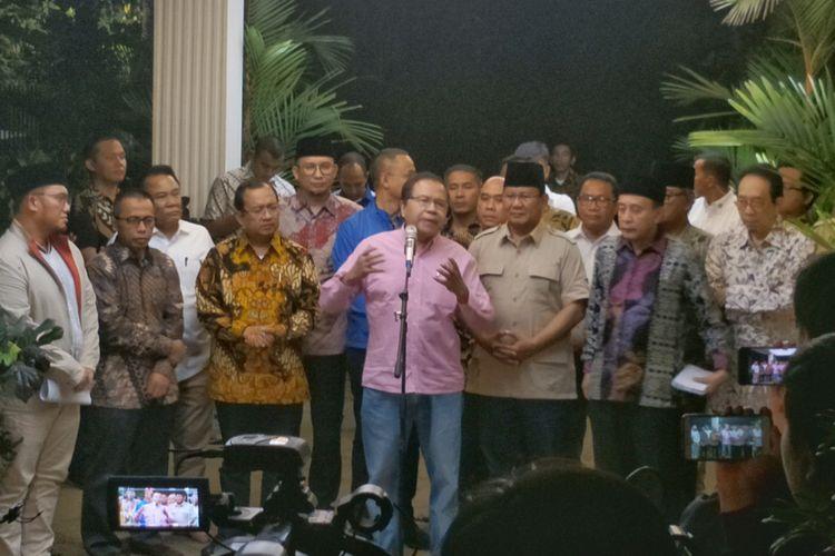 Krist Calon Presiden Nomor Urut Prabowo Subianto Menggelar Pertemuan  Ahli Ekonomi