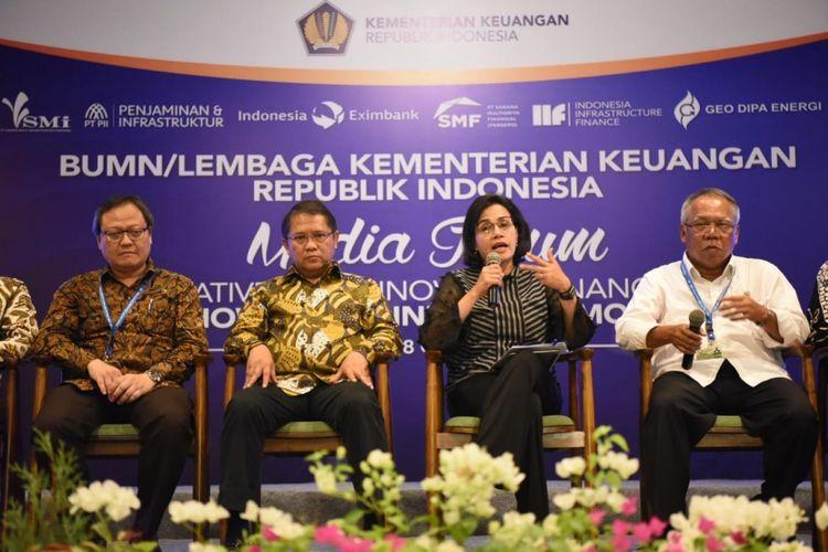 Sejumlah menteri hadir dalam pertemuan IMF-World Bank Annual Meeting 2018 di Bali.