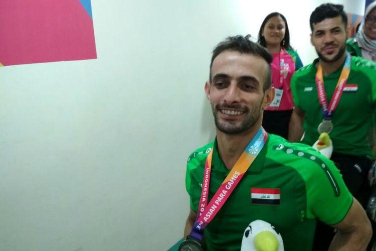 Ali Ammar, atlet anggar kursi roda Irak untuk Asian Para Games 2018.