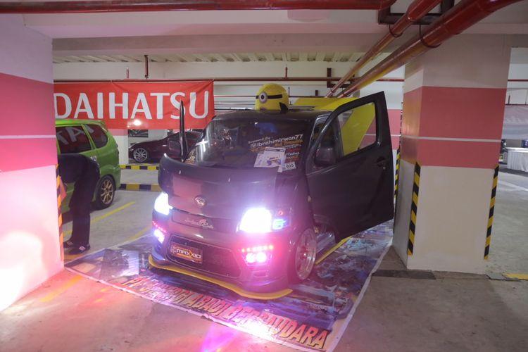 Peserta modifikasi Daihatsu di Palembang.