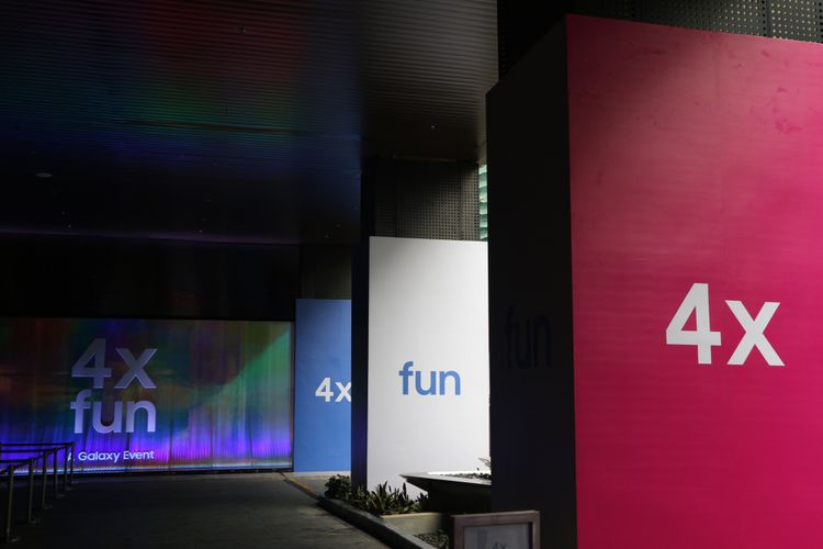 Samsung 4X Fun. A Galaxy Event