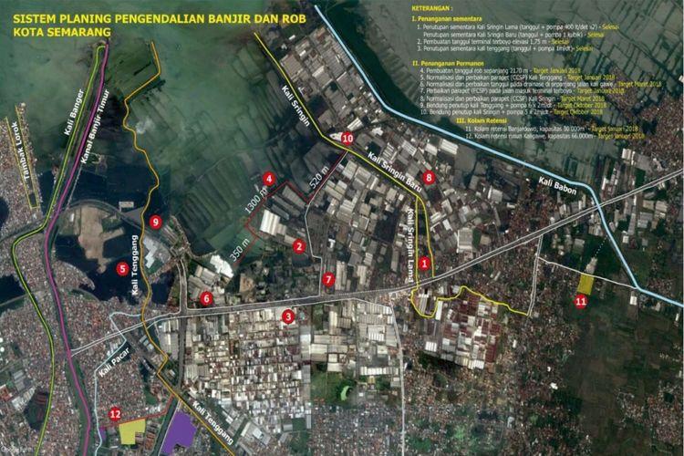 Sistem Planning Pengendalian Banjir dan Rob, Kota Semarang
