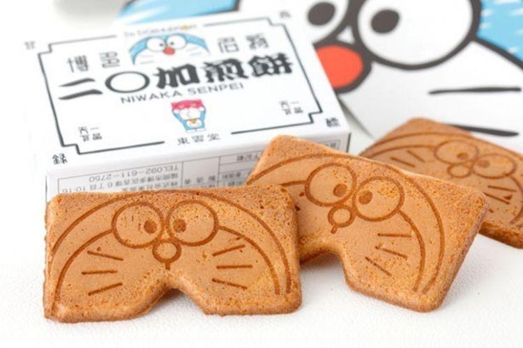 "Kue ""I'm Doraemon Niwaka Senbei"""
