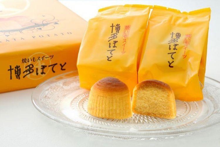 Hakata Potato. Selain yang ada di foto, ada juga Murasaki-imo Potato.