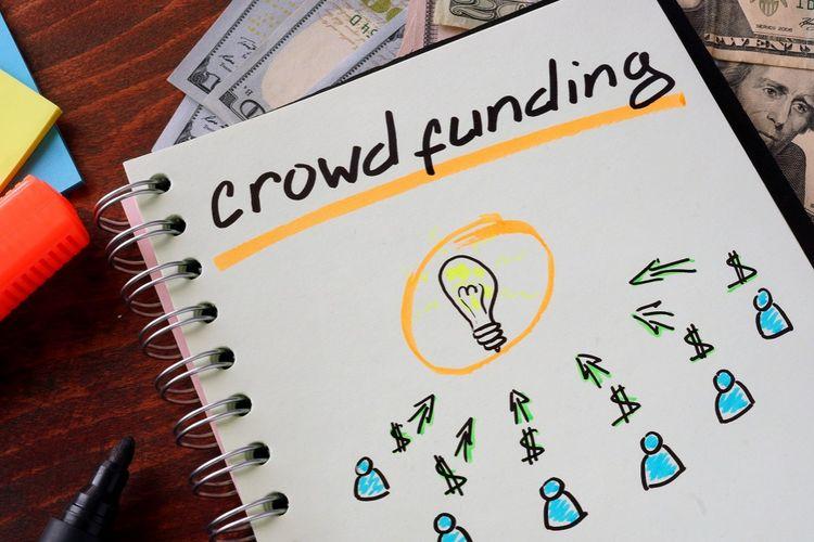 Ilustrasi crowd funding