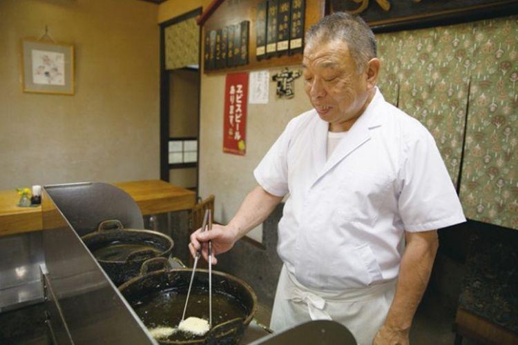 Pemiliki restoran Chano-san yang merupakan generasi kedua